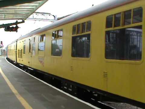 Network Rail 31285; Test train passing through Carlisle (29/07/2011)