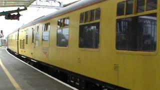 Network Rail 31285; Test train passing through Carlisle (29/07/2011)