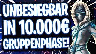 😵🥇UNBESIEGBAR IN DER GRUPPENPHASE! | 💶10.000€ Turnier! Wer schafft es ins K.O.-System?!
