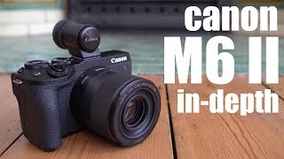 Canon EOS M6 II - in-depth review of Canon's best APSC mirrorless! Check prices at B&H: https://bhpho.to/2ZqAw5N or Amazon: https://amzn.to/2ovHNAg Buy Gordo...