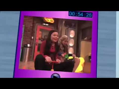 the icarly theme song but everytime they say me it gets faster