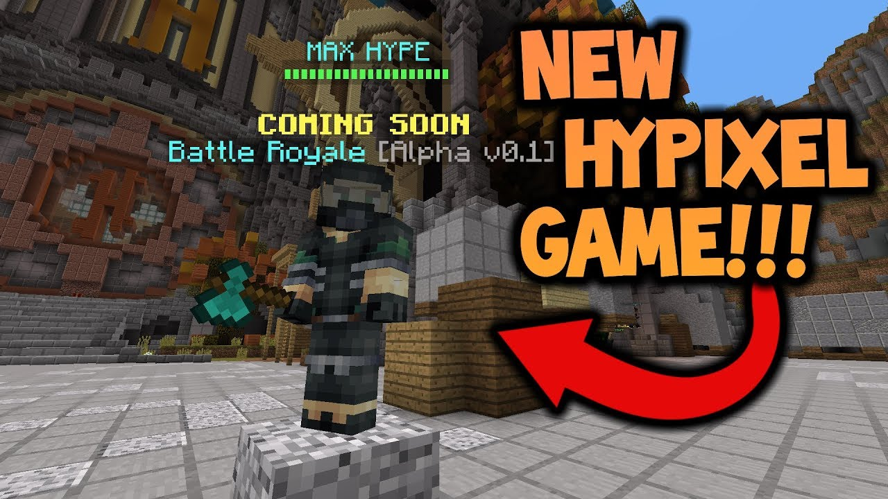 HYPIXELS NEW GAME - Battle Royale