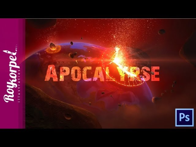 APOCALYPSE - Photoshop speedart - time-lapse + WALLPAPER