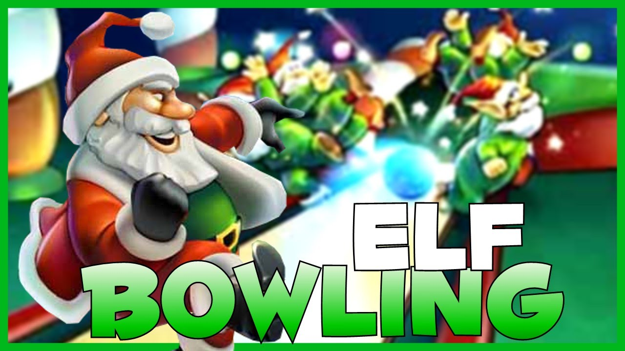 elf bowling 12 days of christmas 10 youtube