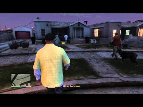 GTA 5 Grove Street : CJ's Old House *SPOILER ALERT*
