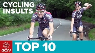 Top 10 Cycling Insults