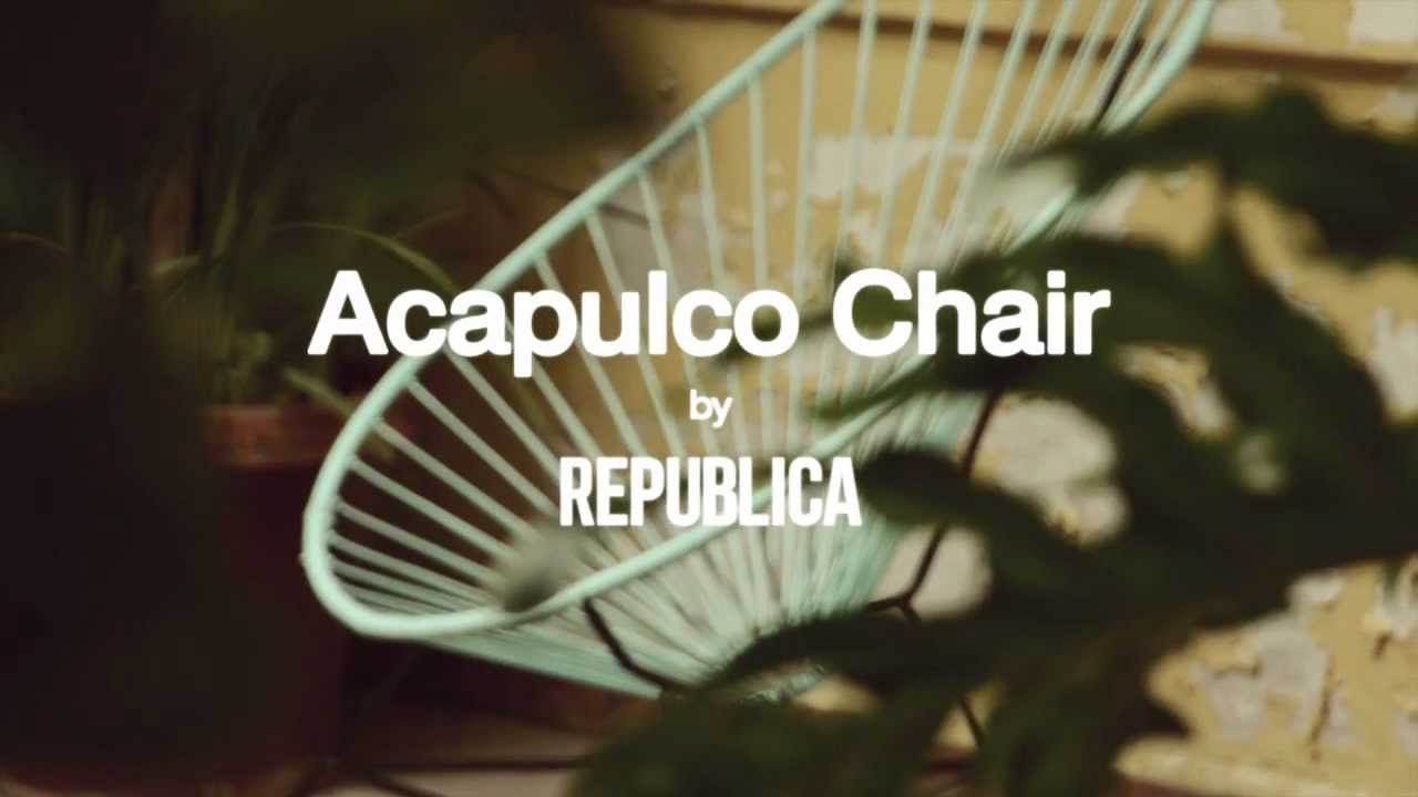 Acapulco chair on patio - Acapulco Chair By Republica