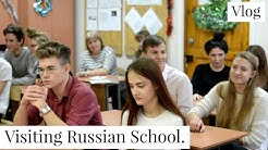 A Visit to Russian School | Representing India in Russia. | Russiafeels