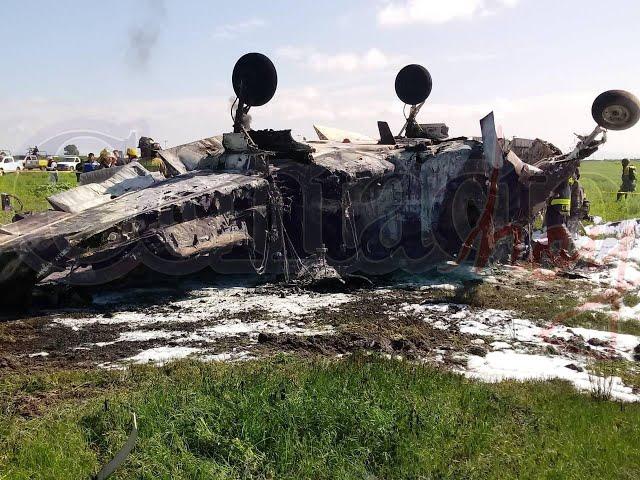 🚨🚨 Identifican a víctimas de avionazo en aeropuerto de Durango.