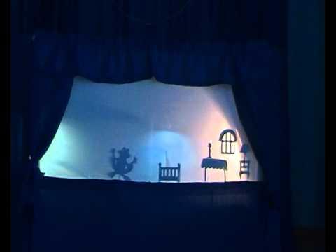 Домашний теневой театр пробуждает детскую фантазию, учит понимать символы. Поставьте на сцене спектакль по сказкам, используя комплекты с.