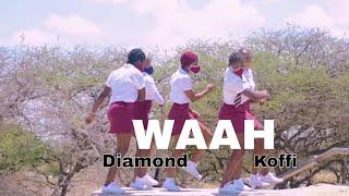 Diamond Platnumz Ft Koffi Olomide - Waah (Official Video Dance)