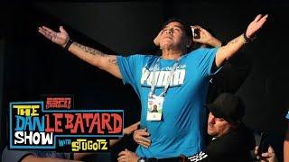 Men in Blazers' Roger Bennett on Diego Maradona's antics: 'Saddening' | Dan Le Batard Show | ESPN