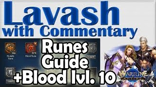 ➜ Wartune GUIDE Blood Rune Level 10 + All Runes Tips and Advice