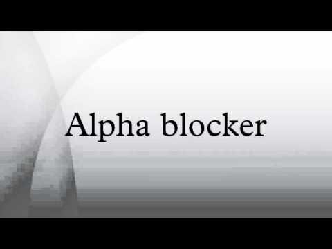 alpha blocker - youtube, Skeleton
