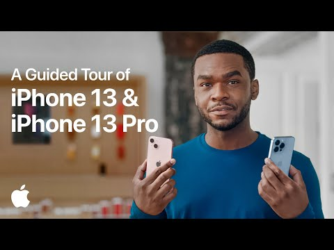A Guided Tour of iPhone 13 & iPhone 13 Pro   Apple