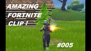 AMAZING FORTNITE CLIP! (SNIPER EDITION)  #005 | FORTNITE BATTLE ROYALE