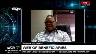 CR17 bank statements | Web of beneficiaries
