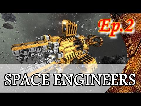 Space Engineers - Pilotage de Vaisseau - Campagne Ep 2