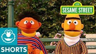 Sesame Street: Bert and Ernie Go Pretend Swimming