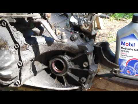 How to change gearbox oil Toyota Corolla VVT-i  manual gearbox. Years 2000 to 2010.