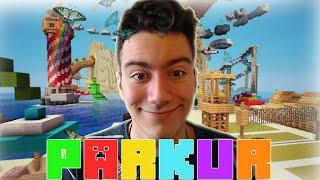 VALLAHA ÖLDÜRECEM HA!! - Minecraft Parkur - The Land of Parkour
