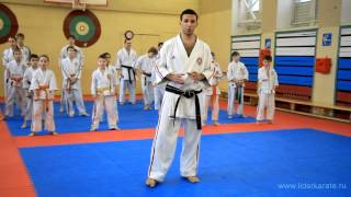 Видеоуроки Косики каратэ (Koshiki karate lessons). СФП. Мартынов Артем. 3дан(Видеоуроки от тренеров СК