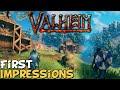 Gambar cover Valheim First Impressions