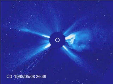 Solar Sun CME ~ Comets Disintegration ~ Planets - SOHO