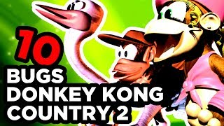 10 BUGS SUR DONKEY KONG COUNTRY 2 (SNES) [BUG ZONE]
