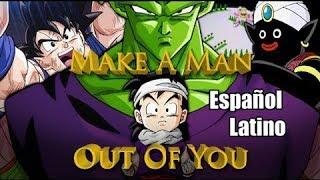 Dragon Ball Z Abridged: Hombres de Acción | Español Latino | PAIRETSU