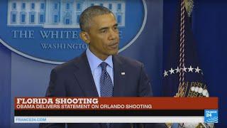 Orlando shooting: US president Barack Obama delivers moving statement