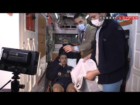Fenerbahçeli Pelkas hastaneden ayrıldı