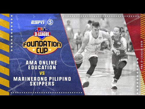 Full Game: AMA Online Education vs. Marinerong Pilipino Skippers | PBA D-League Foundation Cup 2019
