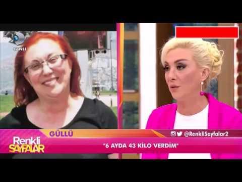 Şarkıcı Güllü Kinoa ile 6 Ayda 43 Kilo Verdi