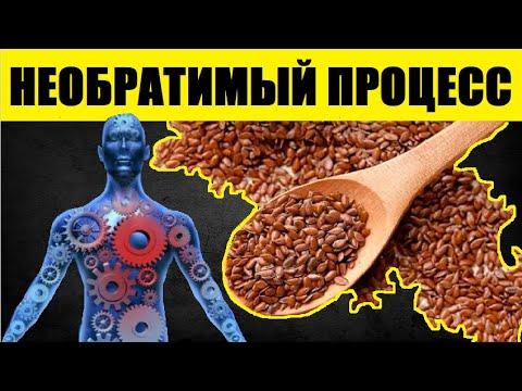 Даже Ложка Семян Льна в День Вызывает Необратимый Процесс в Организме. Вот Что ЛЁН Делает с Нами