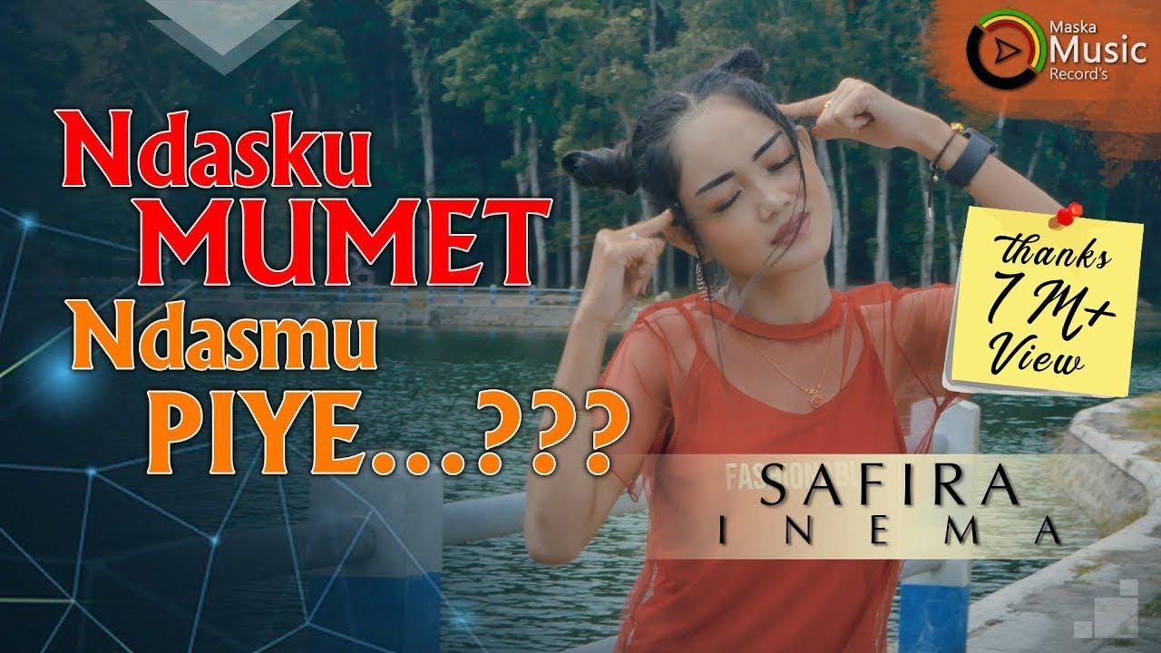 Safira Inema - Ndasku Mumet Ndasmu Piye - DJ Santuy Full Bass (Official Music Video)