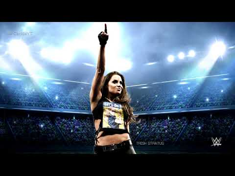"""Trish Stratus 4th WWE Theme Song - """"Time To Rock & Roll"""" with Arena Effects"""