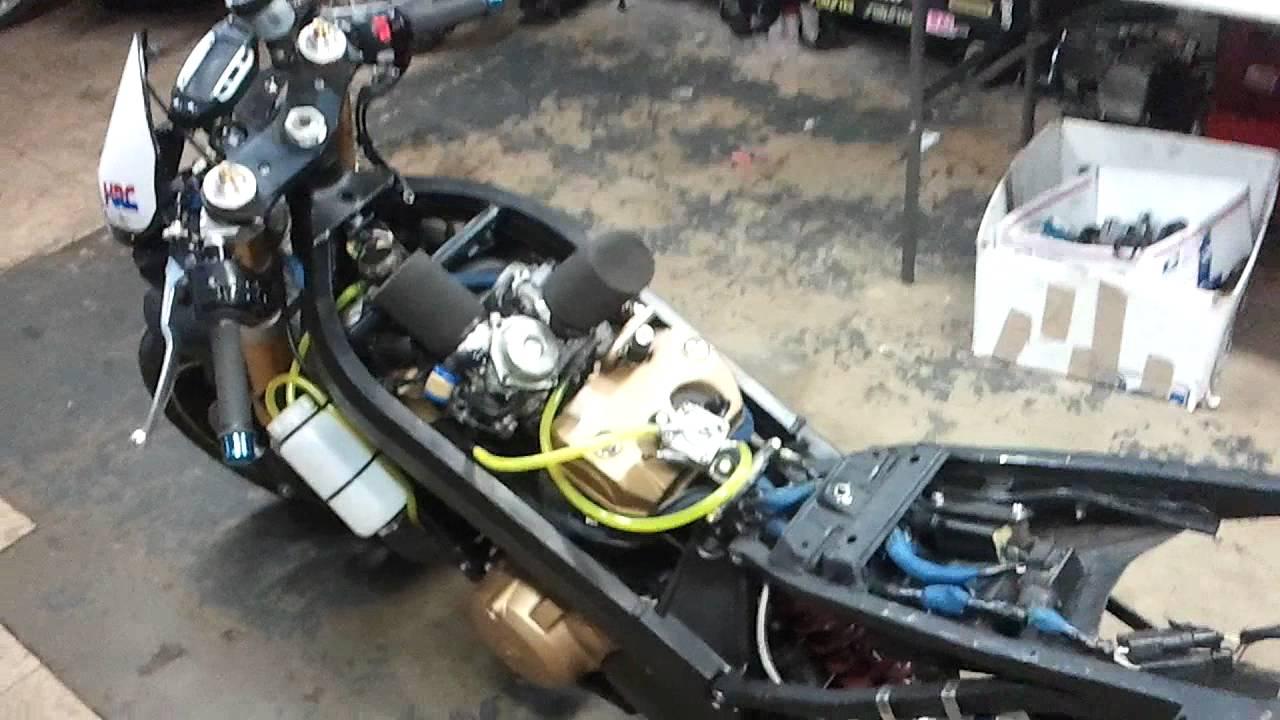 1988 honda hawk gt 650 - 663cc wiseco motor