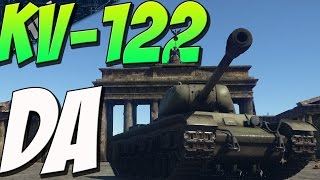 kv 122 pow right in the kisser war thunder tanks gameplay