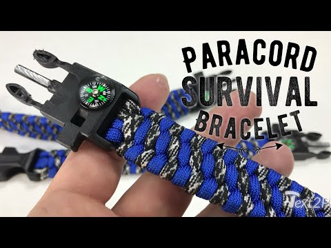 3Bears Outdoor Survival Paracord Bracelet with Whistle, Compass, and Fire Starter Review