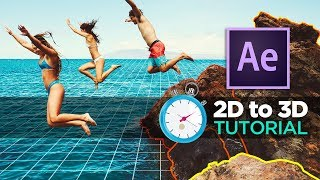 How to Animate 2D Photos in 3D EASY ! - After Effects & VoluMax TUTORIAL
