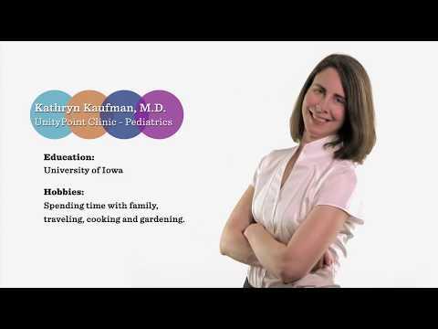 Meet Dr. Kathryn Kaufman UnityPoint Clinic Pediatrics Cedar Rapids