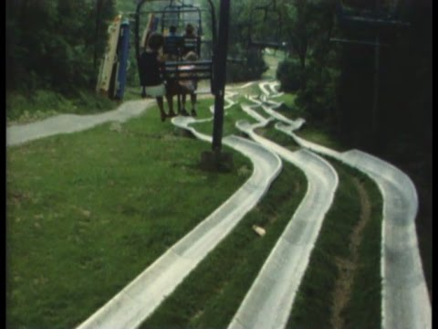 Action Park NJ and Great Adventure, 1980  8MM film
