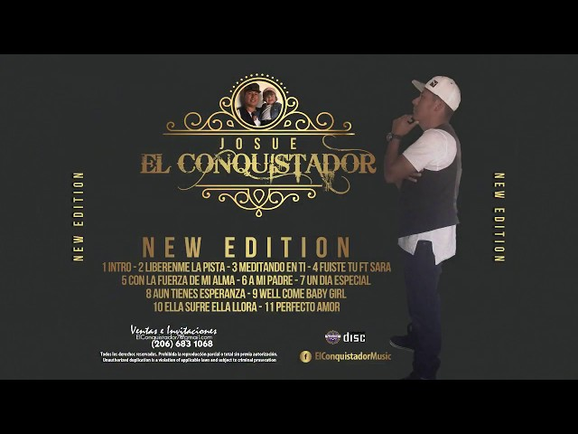 Josué El Conquistador - Liberenme la pista (Lyrics video)