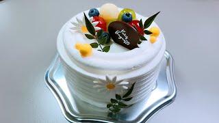 생방송 3주년 케이크 …