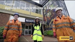Finning women talk about their experiences in support of International Women in Engineering Day