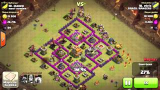 Clash of Clans | War 25 | player elvis - BRAZIL RANGERS