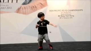 O novo campeão de ioiô da Asia é um menino de 6 anos