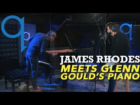 James Rhodes meets Glenn Gould's Piano