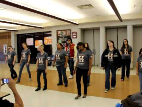 Haltom High School Yearbook Thriller Flash Mob